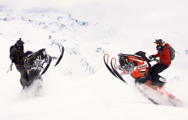 The Danimals snowmobile pro